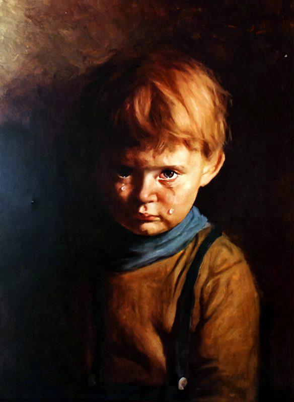 Джованни Браголин «Плачущий мальчик», 1950-е