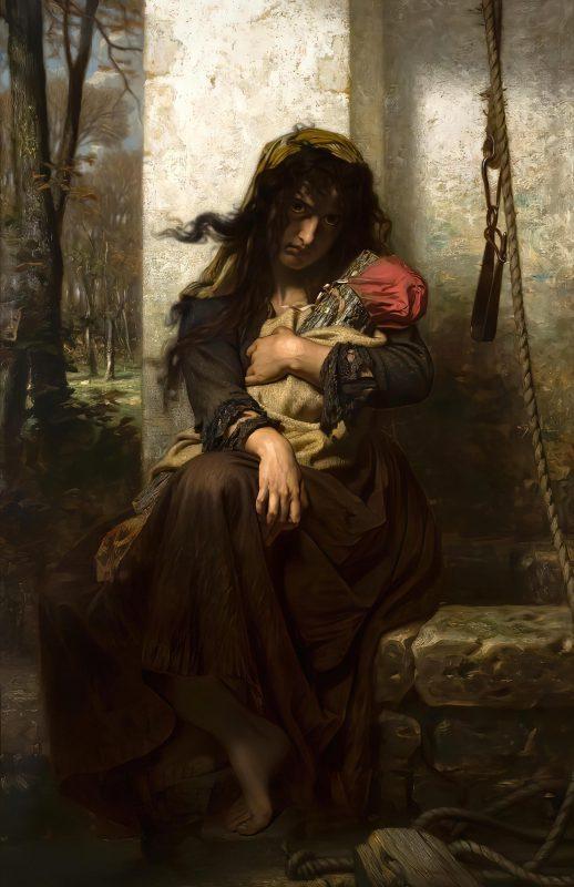 Гуго Мерле «Сумасшедшая из Этреты», 1871 год