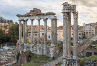 Храм Веспасиана и Тита на Римском форуме