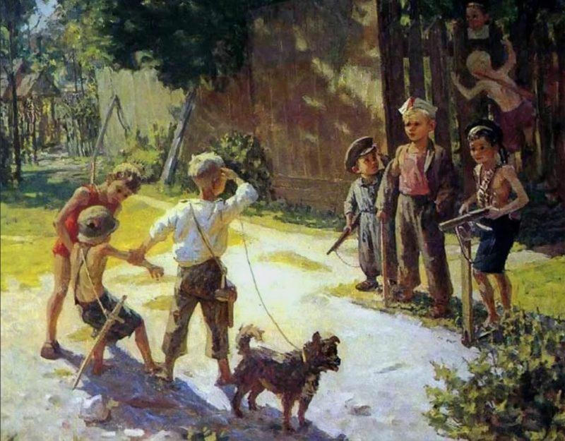 Федор Решетников «Достали языка», 1943 год