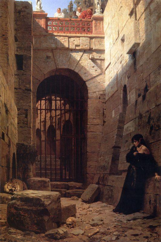 Василий Поленов «Цезарская забава», 1879 год