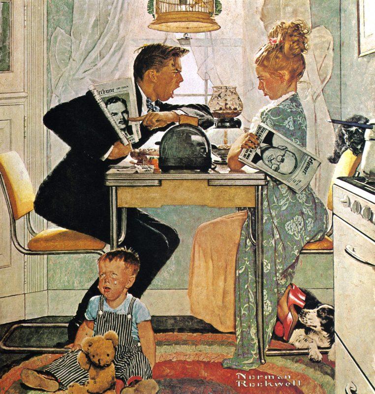 Норман Роквелл «День выборов», 1948 год