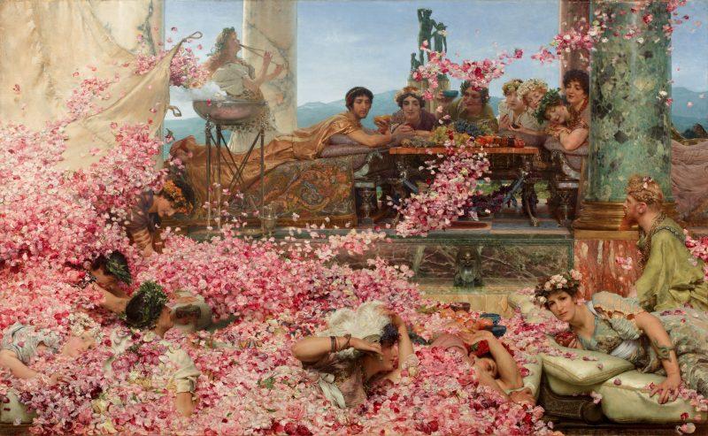 Лоуренс Альма-Тадема «Розы Геолигабала», 1888 год