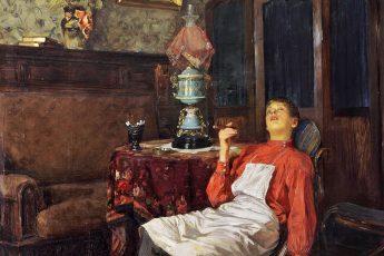 Владимир Маковский «Без хозяина», 1911 год