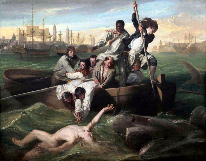 Джон Синглтон Копли «Брук Уотсон и акула», 1778 год