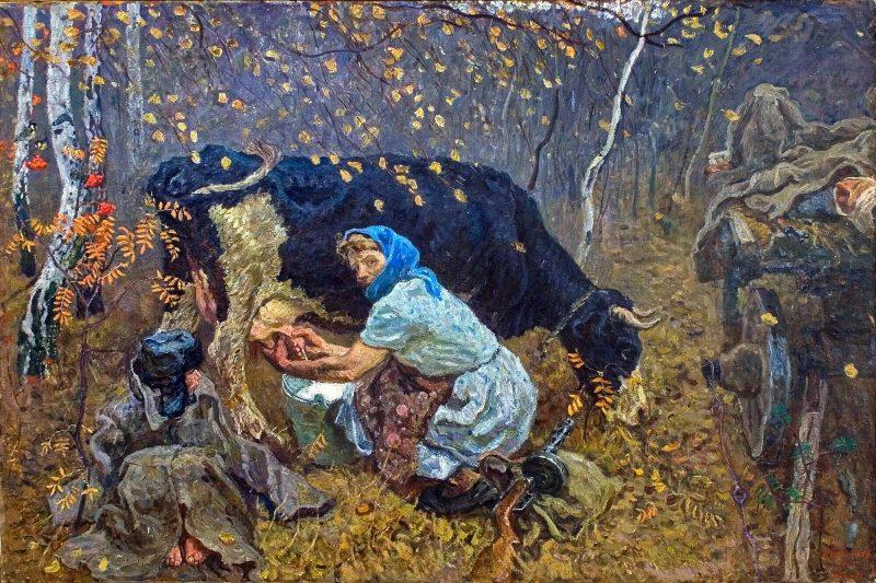 Сергей и Алексей Ткачёвы «В партизанском крае», 1975 год