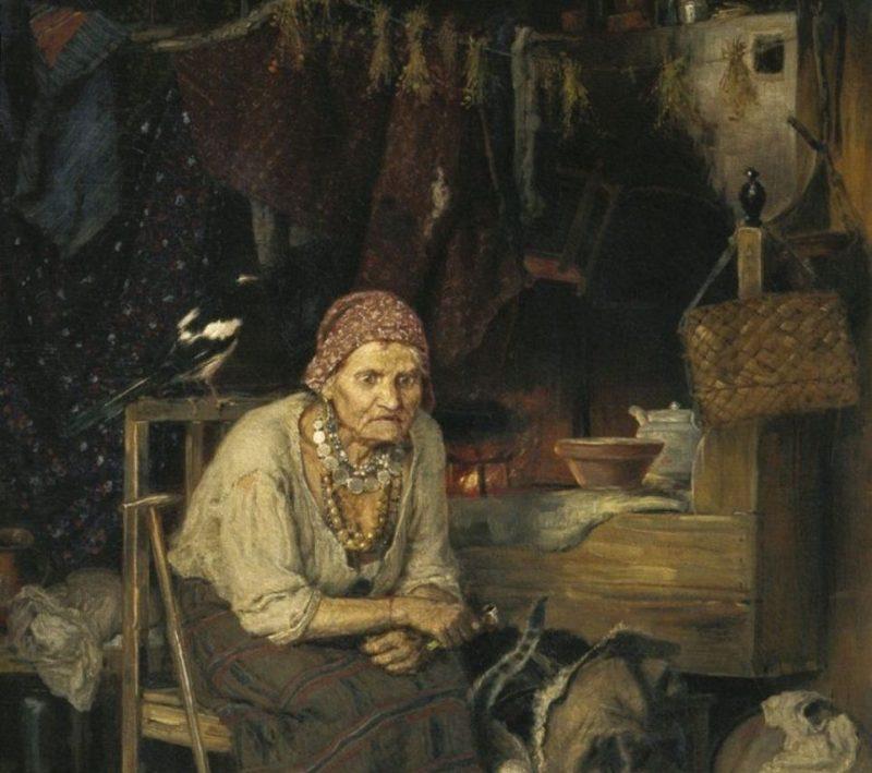 Константин Савицкий «С нечистым знается», фрагмент