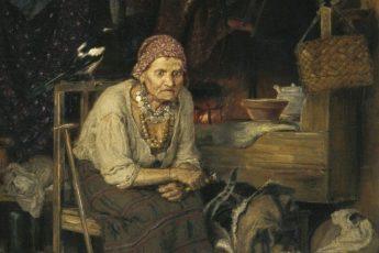 Константин Савицкий «С нечистым знается», 1879 год