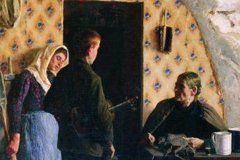 Елена Поленова «Без сил, без денег», 1895 год