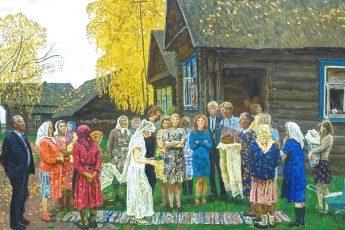 Сергей и Алексей Ткачёвы «Деревенская свадьба»