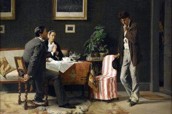 Аксель Кулле «Возвращение блудного сына», 1882 года