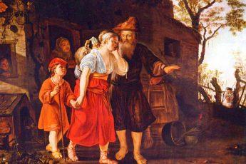 Викторс Ян «Изгнание Агари», 1635 год