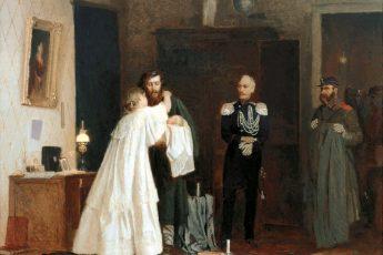 Арсений Шурыгин «Арест», 1867 год