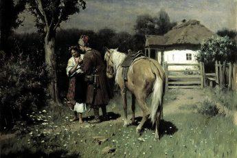Николай Пимоненко «Украинская ночь. Свидание», 1905 год